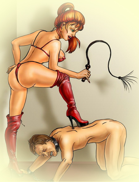 A BDSM comics lover - it's site for you!