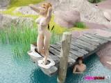 Blonde femdom story : Femdom 3D Sex