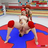 Handsome femdom porn 3D : Femdom 3D Sex